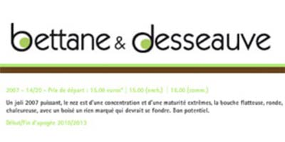 Guide Bettane & Desseauve 2011