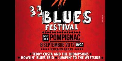 33 Blues Festival de Pompignac
