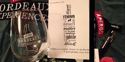 Bordeaux Expérience àParis