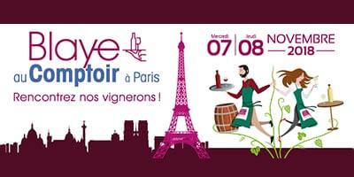 Dégustation à Paris du 7 au 10 novembre !